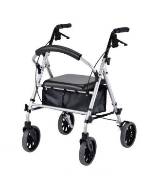 PCP Rollator with 8 Inch wheels and fully adjustable